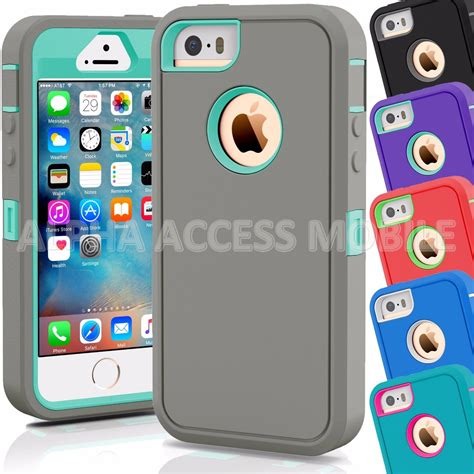 iphone 5c cover shockproof hybrid rugged skin armor cover for 2346