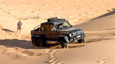 The brabus mercedes g63 amg 6x6 700 that team masters of speed rode in the 2014 gumball 3000 rally is a different beast. Mercedes G63 AMG 6x6 tra le dune tunisine | Doovi