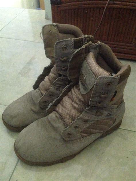 jual beli sepatu delta tinggi bekas sepatu boots pria