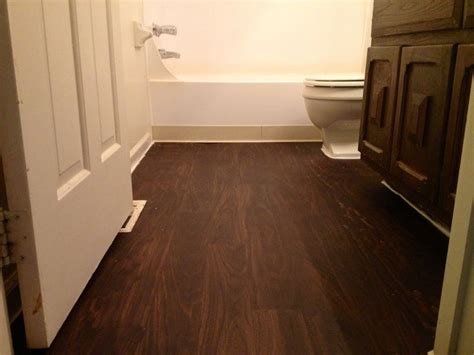 Floating Floor In Bathroom Vinyl Bathroom Flooring Bathroom Remodel