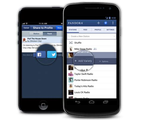 pandora for android pandora 4 0 overhaul to bring new interface features to