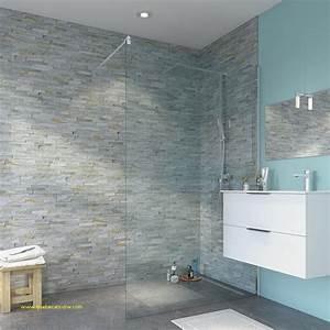 panneau mural salle de bain effet carrelage fabulous With carrelage adhesif salle de bain avec dalle led avec variateur