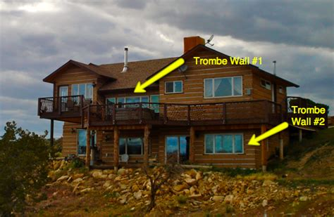 propane wall trombe walls in a passive solar house green passive