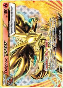 Delphox BREAK - Fates Collide #14 Pokemon Card