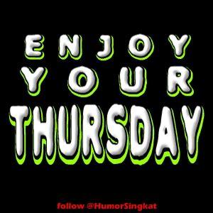 enjoy  thursday status hari kamis display picture bbm