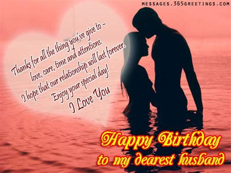 romantic birthday wishes  husband greetingscom