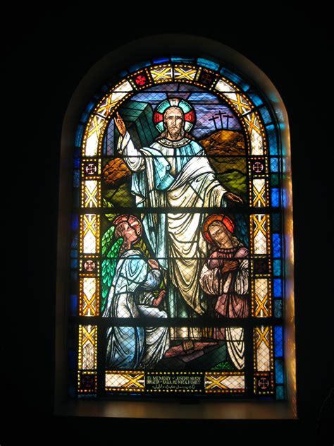 stained glass windows st george antiochian orthodox church