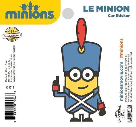 Family Minion 3 minion family stickers