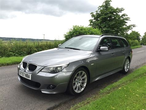 Used 2007 Bmw E60 5 Series [0310] 520d M Sport Touring