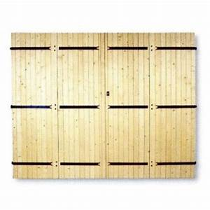Porte De Garage 4 Vantaux : porte de garage 4 vantaux pentures et contre pentures ~ Dallasstarsshop.com Idées de Décoration