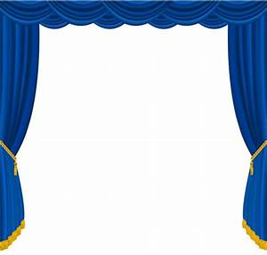 Blue stage curtains wwwimgkidcom the image kid has it for Blue stage curtains clipart