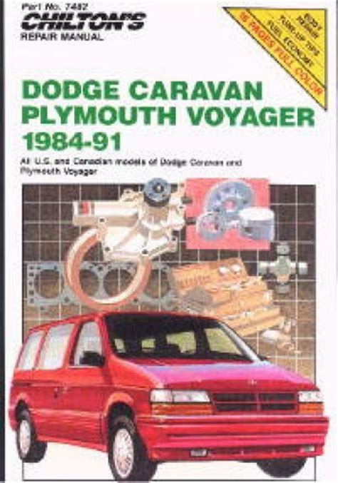 free car repair manuals 1992 plymouth voyager instrument cluster chilton dodge caravan and voyager 1984 1991 repair manual