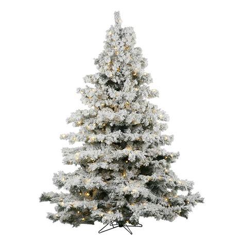 shop vickerman 6 5 ft pre lit alaskan pine artificial