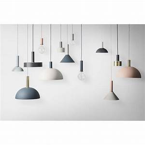 Ferm Living Ordner : ferm living lampenschirm dome grau collect lighting ~ Indierocktalk.com Haus und Dekorationen