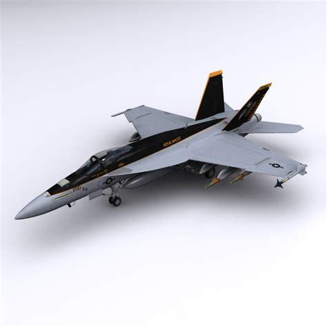 F A 18e Super Hornet 3ds