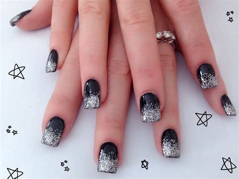 black and silver nail designs black and silver nail designs 7 free hd wallpaper