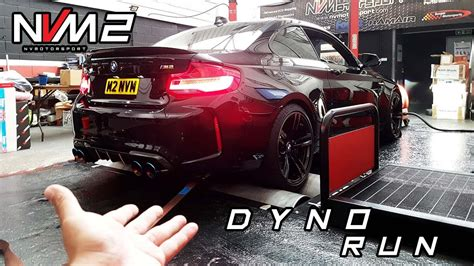 bmw m2 dyno and intake fitting nvm2 update youtube