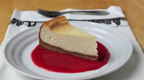food wishes recipes  york style cheesecake recipe