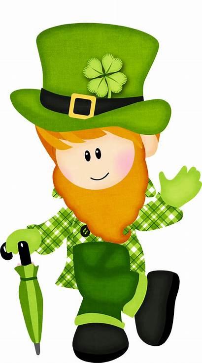 Leprechaun St Clipart Patricks Lucky Patrick Irish