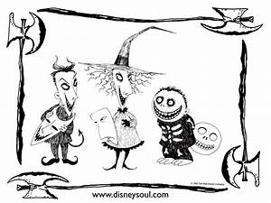 Nightmare Before Christmas Coloring Pages | Hocus Pocus ...