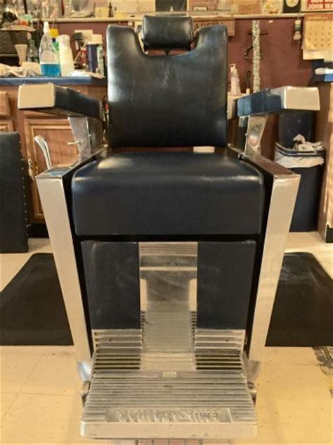 Emil J Paidar Barber Chair 1959 by 2 Emil J Paidar 1959 Antique Barber Chairs