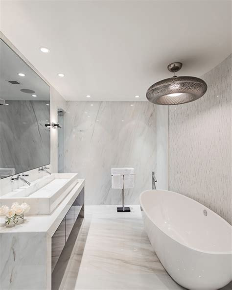 Modern Neoclassical Interiors Mixed with Contemporary by