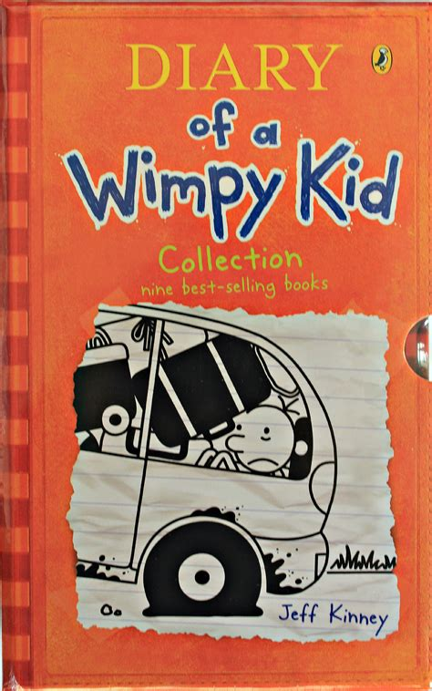 Diary Of A Wimpy Kid 9 Books Box Set Collection Jeff
