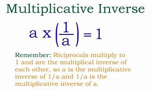 Multiplikative Inverse Berechnen : the multiplicative inversive explained ~ Themetempest.com Abrechnung