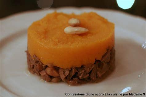 cuisiner un gigot de sanglier parmentier de sanglier au marrons purée de butternut