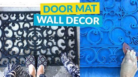 rubber doormat wall rubber door mat wall decor