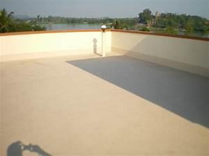 Peinture Balcon Sol : produit d 39 tanch it toit terrasse circulable ~ Premium-room.com Idées de Décoration