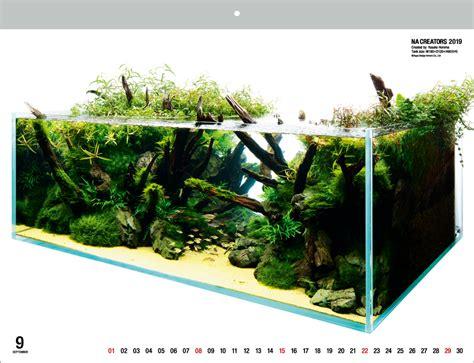 nature aquarium calendar   product
