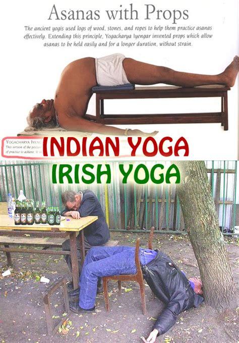 Irish Yoga Meme - irish yoga www pixshark com images galleries with a bite