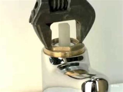 replacing  ceramic disc cartridge   mono mixer tap