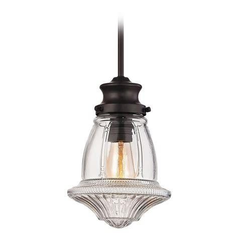 3 light pendant bronze elk lighting schoolhouse pendants rubbed bronze mini