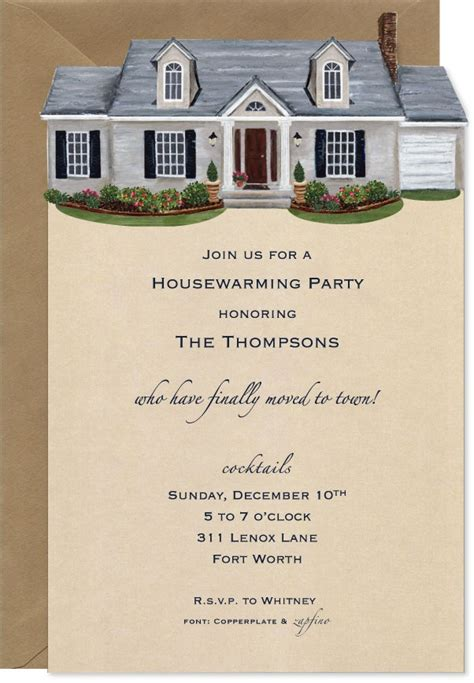 cute house warming invitation party ideas   open