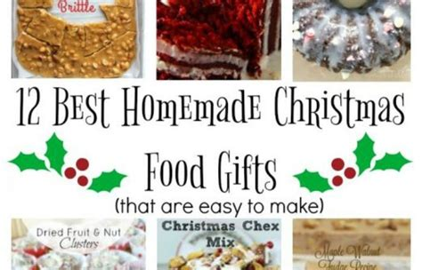 Best Homemade Christmas Food Gifts