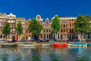 Häuser In Holland : amsterdam kan le und typische h user holland stockbild bild von drau en fassade 52669705 ~ Watch28wear.com Haus und Dekorationen