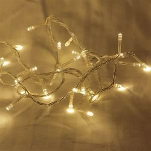 20m Warm White LED Fairy Lights - Festive Lights Lights