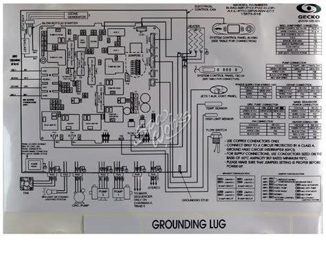 Spa Circuit Board Wiring Diagram by Dimension One Circuit Board Non Liquid Fx Mspa Mp D17
