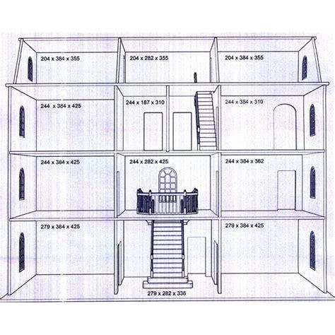 how to house plans downton manor dolls house kit design btk003