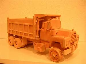 instructions build wooden toy truck Quick Woodworking