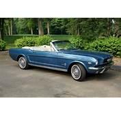 Guardsman Blue 1964 Ford Mustang Convertible