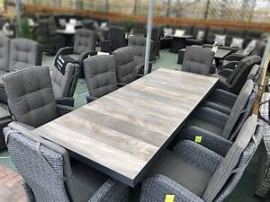 extendable rattan dining set 6 8 seater with reclining With furniture mile end homemaker centre