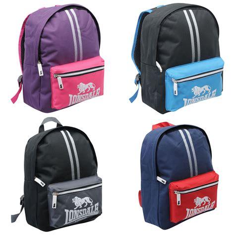 Lonsdale London Mini Original Backpack Rucksack Gym Sports