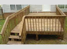 Wooden Deck PlansStairs For A Deck Plans Large Wooden