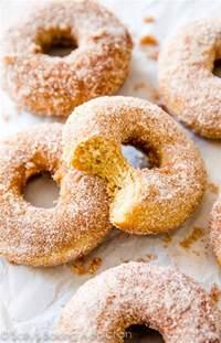 Baked Cinnamon-Sugar Donuts Recipe