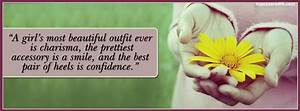 Beautiful Girl Quotes Facebook Cover - Awesome Dps for ...