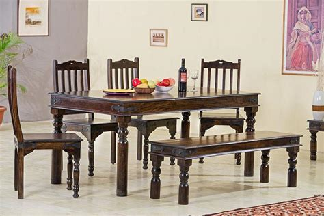 jaipur dining set solid wood furniture buy dining