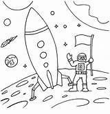 Rocket Coloring Colouring Space Pages Rockets Ship Drawing Astronaut Activity Houston Simple Printable Print Neil Armstrong Colorings Ages Complex Patterns sketch template